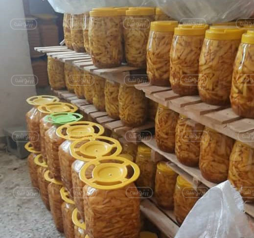 فروش ترشی انبه در اصفهان